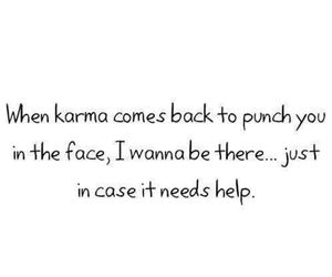 karma, quote, and help image