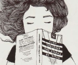 book, drawing, and read image