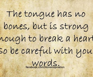 quote, words, and tongue image