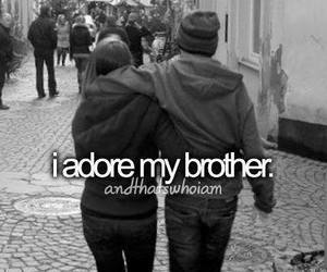 brothers, love, and family image