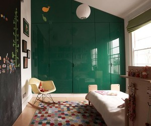 children, wall, and decor image