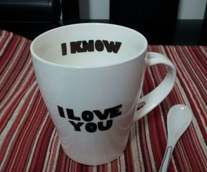 coffee, couple, and cup image
