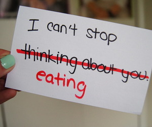 food, eating, and quote image
