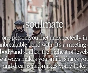 love and soulmate word porn image
