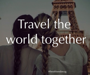 travel, together, and love image