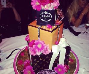 Beverly Hills, cake, and happy birthday image