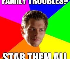 klaus, tvd, and the vampire diaries image