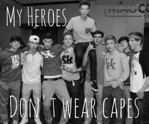 magcon, cameron dallas, and hero image