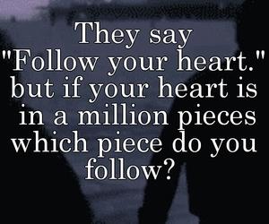 heart, sad, and so true image