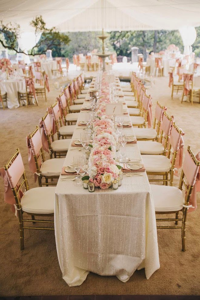 Long Wedding Tables Belle The Magazine The Wedding Blog For The