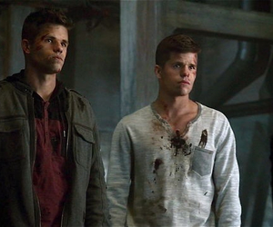 teen wolf, ethan, and max carver image