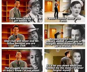 glee and rachel image