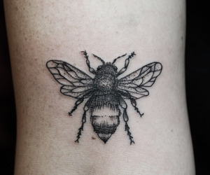 tattoo and bee image