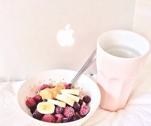 food, apple, and breakfast image