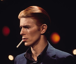david bowie and cigarette image