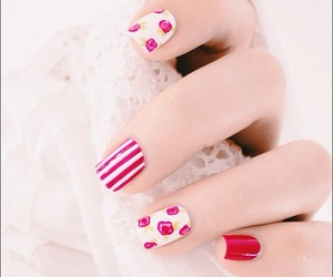 inspiration, nail design, and nail image