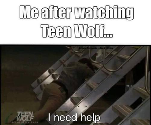 teen wolf, funny, and lol image