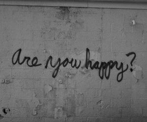 b&w, black and white, and happiness image