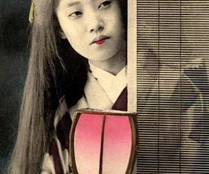 era, kimono, and old image