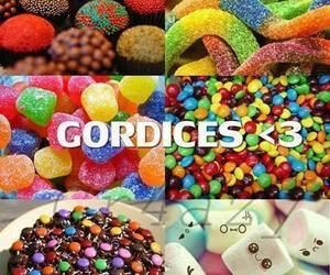 candy, gordices, and food image