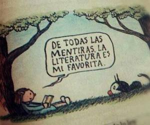 book, literatura, and lies image