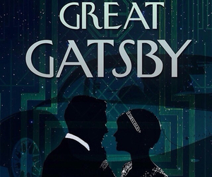 the great gatsby, book, and love image