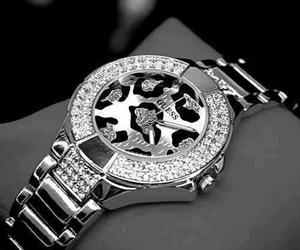 accessories, leopard, and watch image