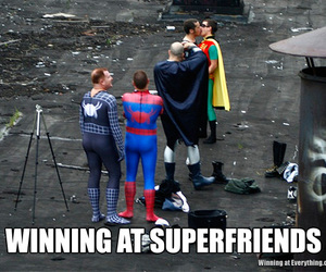 funny, gay, and heroes image