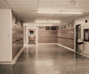 hall, memories, and old image