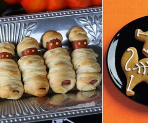 Halloween, halloween party, and food ideas image