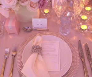 candles, menu, and decoration image