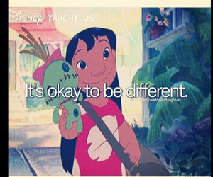 disney, be different, and lilo image