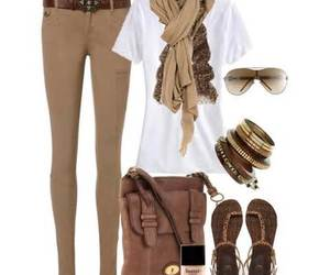 brown, Hot, and fashion style image