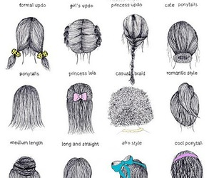 art, fashion, and hair braid image