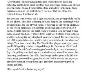 aw, true love, and truee image