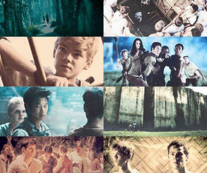 chuck, the maze runner, and newt image