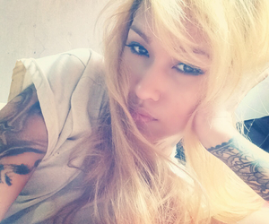 blonde, ink, and anne sarabia image