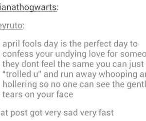 love, tears, and tumblr image