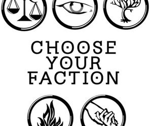 faction, divergent, and tris image