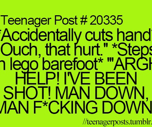 funny, teenager post, and lego image