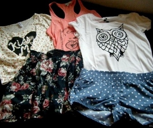 fashion, clothes, and owl image