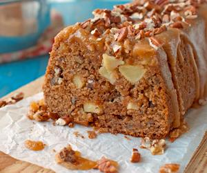 apple, brown sugar, and cake image