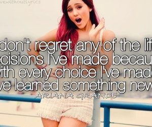 quote, ariana, and grande image