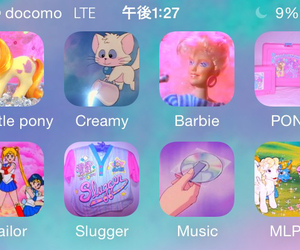 barbie, iphone, and kawaii image