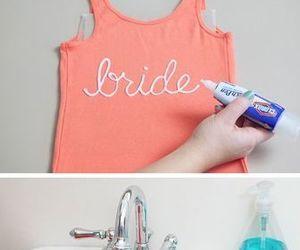 diy, shirt, and tutorial image