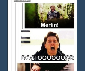 supernatural, merlin, and doctor who image