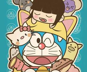 doraemon, 壁纸, and iphone5 image