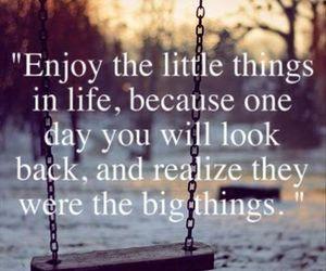 enjoy, life, and text image