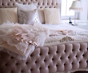 bedroom, bed, and dress image