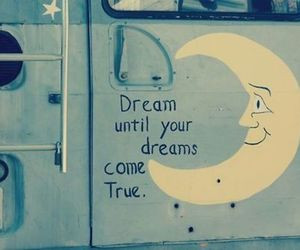 Dream, love, and moon image